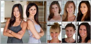 The current Pasadena instructors (and owners Kate & Liz).