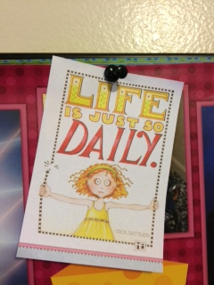 """""""Life is just so Daily."""" - Dick Sattler (art by ME)"""